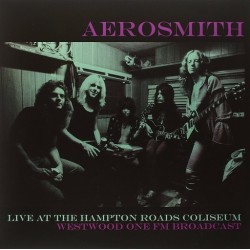 Aerosmith ‎– Live At The Hampton Roads Coliseum - Double LP Vinyl Album