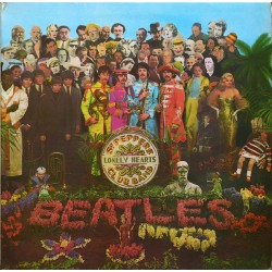 The Beatles ‎– Sgt. Pepper's Lonely Hearts Club Band - LP Vinyl Album - Gatefold