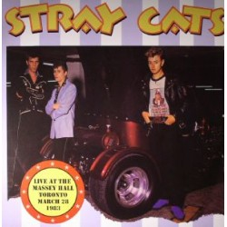 Stray Cats ‎– Live At The Massey Hall Toronto March 28 1983 - Double LP Vinyl Album