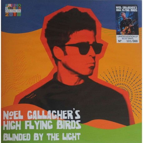 Noel Gallagher's High Flying Birds - Blinded By The Light - LP Vinyl Album - Limited Edition Coloured Blue