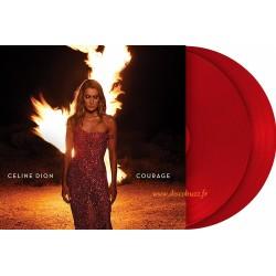 Celine Dion – Courage -  Double LP Vinyl Album - Coloured Red - Pop Music