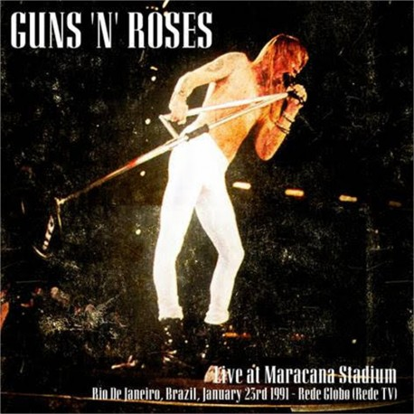 Guns N' Roses – Live At Maracana Stadium - Double LP Vinyl Album - Hard Rock