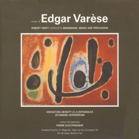 Edgar Varèse ‎– Music Of Edgar Varèse - LP Vinyl Album - Experimental Classical