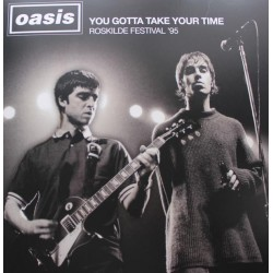 Oasis ‎– You Gotta Take Your Time - LP Vinyl Album - Roskilde Festival 95 - Brit Pop
