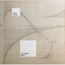 Iannis Xenakis – Electronic Music - LP Vinyl Album - Experimental