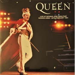Queen ‎– Live At Estadio Jose Amalitani Buenos Aires - LP Vinyl Album