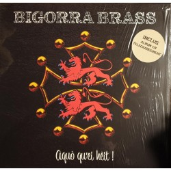Bigorra Brass - Aquo Qu'Ei Heit ! - LP Vinyl Album - Autoproduction Tarbes