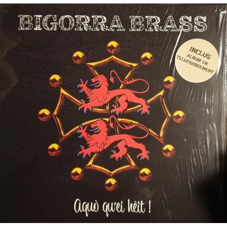 Bigorra Brass - Aquo Qu'Ei Heit ! - LP Vinyl Album - Autoproduction Tarbes
