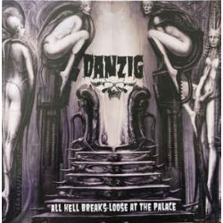 Danzig ‎– All Hell Breaks Loose At The Palace - LP Vinyl Album - Coloured Edition - Heavy Metal