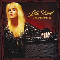 Lita Ford ‎– Live San Juan '92 - LP Vinyl Album - Heavy Metal