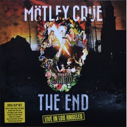 Mötley Crüe ‎– The End - Live In Los Angeles - Double LP Vinyl Album + DVD - Hard Rock Heavy Metal