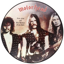 Motörhead ‎– Iron Fist And The Hordes From Hell  - LP Vinyl Album - Picture Disc - Heavy Metal
