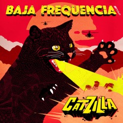 Baja Frequencia (Chinese Man) ‎– Catzilla - Maxi Vinyl 12 inches - Electro Trip Hop