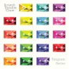Scratch Bandits Crew – Tangram Series - LP Vinyl Album - Electro Hip Hop - Chinese Man Records