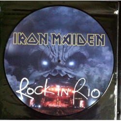Iron Maiden ‎– Rock In Rio - LP Vinyl Album - Picture Disc - Hard Rock Heavy Metal