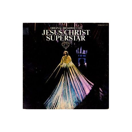 Musique de Film - Various ‎– Original Broadway Cast - Jesus Christ Superstar - LP Vinyl