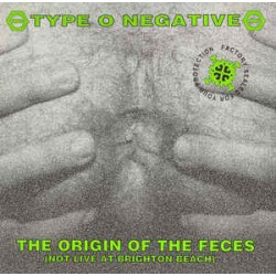 Type O Negative ‎– The Origin Of The Feces (Not Live At Brighton Beach) - LP Vinyl Album - Doom Metal Hardcore