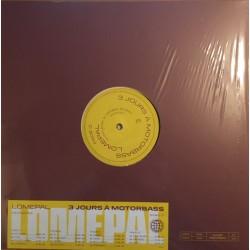 Lomepal – 3 Jours à Motorbass - Double LP Vinyl Album - Rap Français