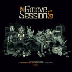Chinese Man - Groove Sessions 5 - Double LP Vinyl Album + Free Download Code - Trip Hop Electro