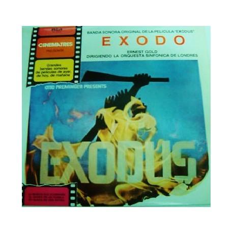 Musique de Film - Ernest Gold – Exodo - LP Vinyl