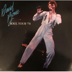 David Bowie ‎– Soul Tour '74 - Double LP Vinyl Album - Double Coloured Edition - Glam Rock