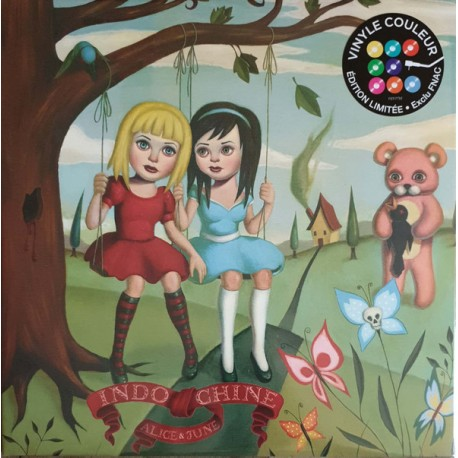 Indochine – Alice & June - Double LP Vinyl Album - Coloured Green - Limited Edition