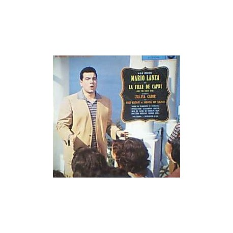 Musique de Film - Mario Lanza - La Fille De Capri - LP Vinyl