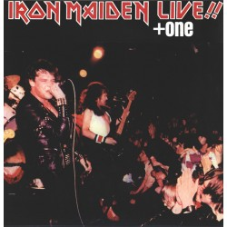 Iron Maiden ‎– Live!! + One - LP Vinyl album - Hard Rock Metal
