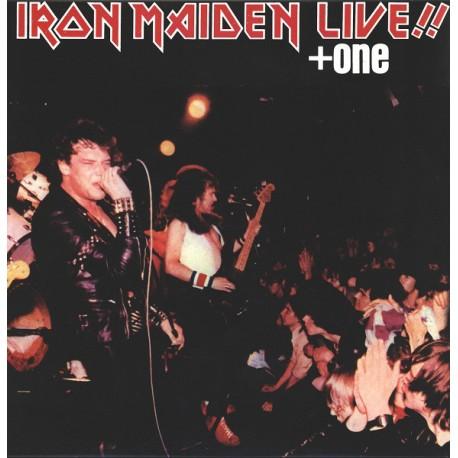 Iron Maiden – Live!! + One - LP Vinyl album - Hard Rock Metal