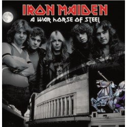 Iron Maiden ‎– A War Horse Of Steel - Double LP Vinyl Album - Coloured Edition - Hard Rock Metal