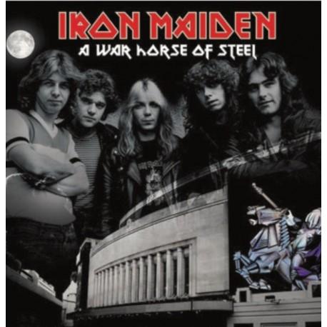 Iron Maiden – A War Horse Of Steel - Double LP Vinyl Album - Coloured Edition - Hard Rock Metal