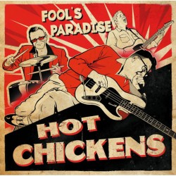 Hot Chickens ‎– Fool's Paradise - CD Album - Rockabilly