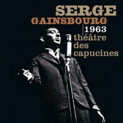 Serge Gainsbourg ‎– Théâtre Des Capucines 1963 - LP Vinyl Album - French Song