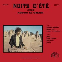 Abdou El Omari – Nuits D'Été - LP Vinyl Album - Psychedelic Oriental Electronic