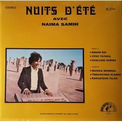 Abdou El Omari Avec Naima Samih – Nuits D'Été - LP Vinyl Album - Psychedelic Oriental Electronic