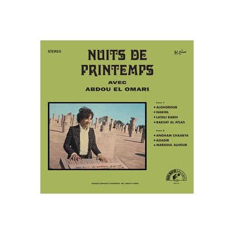 Abdou El Omari - Nuits De Printemps - LP Vinyl Album -  Psychedelic Oriental