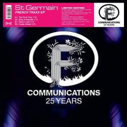 St Germain (Ludovic Navarre) - French Traxx EP - Maxi Vinyl 12 inches - 25 ans F Communications - Deep House Music