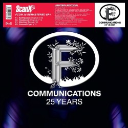 Scan X F Com 25 Remastered EP 1 - Maxi Vinyl 12 inches - 25 years F Communications - House Techno