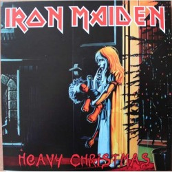Iron Maiden ‎– Heavy Christmas - Double LP Vinyl Album - Coloured - Limited Edition - Heavy Metal