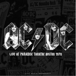 AC/DC – Live at Paradise Theatre Boston 1978 - LP Vinyl Album - Hard Rock Heavy Live