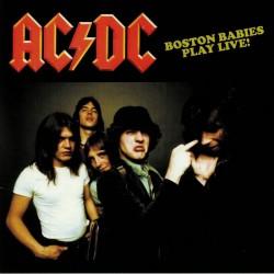 AC/DC – Boston Babies Play Live - LP Vinyl Album Coloured - Hard Rock Metal