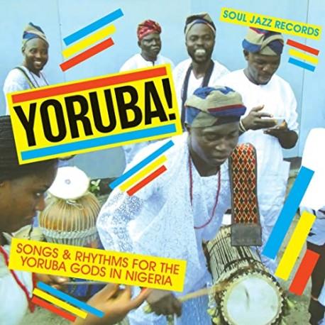 Yoruba! Songs & Rhythms For The Yoruba Gods In Nigeria - Double LP Vinyl Album - African Music