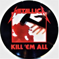 Metallica – Kill 'Em All - LP Vinyl Album  - Picture Disc Edition - Hard Rock Metal