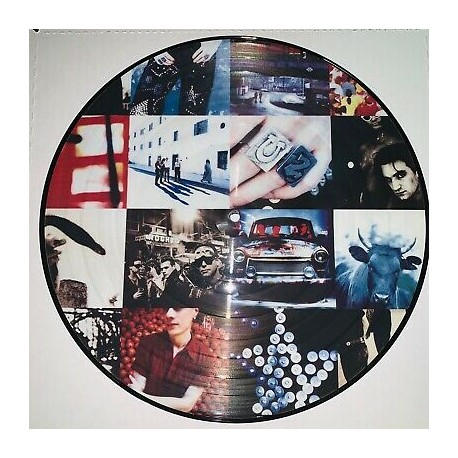 U2 – Achtung Baby - LP Vinyl Album - Picture Disc Edition - Alternative Rock