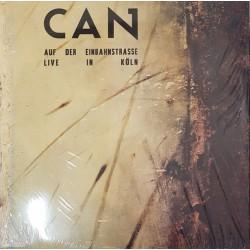 Can – Auf Der Einbahnstrasse - Live In Köln - LP Vinyl Album - Krautrock Experimental