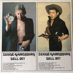 Serge Gainsbourg ‎– Sell Out - LP Vinyl Album - French Songs