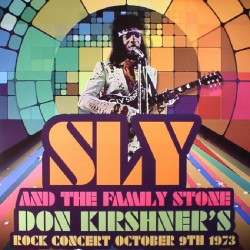 Sly & The Family Stone – Don Kirshner's Rock Concert October 9th 1973 - LP Vinyl Album - Funk Soul Music