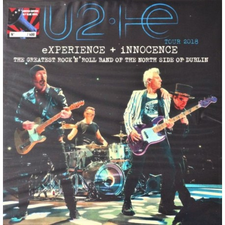 U2 - Experience + Innocence - Tour 2018 - 3 LP Vinyl Album - Coloured Edition - Limited - Alternative Rock