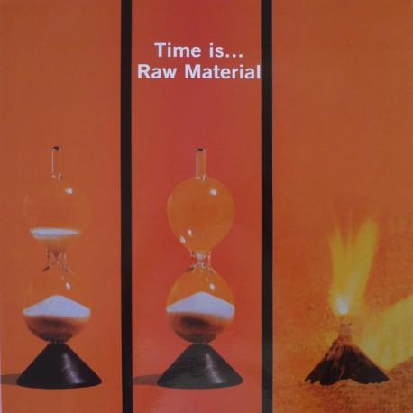 Raw Material  – Time Is... - LP Vinyl Album - Gatefold - Progressive Rock