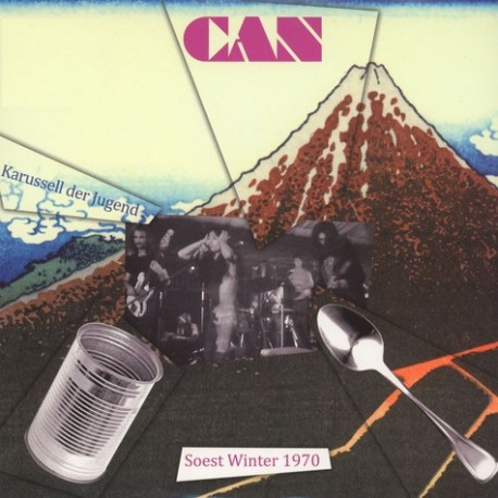 Can – Karussell Der Jugend - Paperhouse - Soest Winter 1970 - LP Vinyl Album - Krautrock Experimental